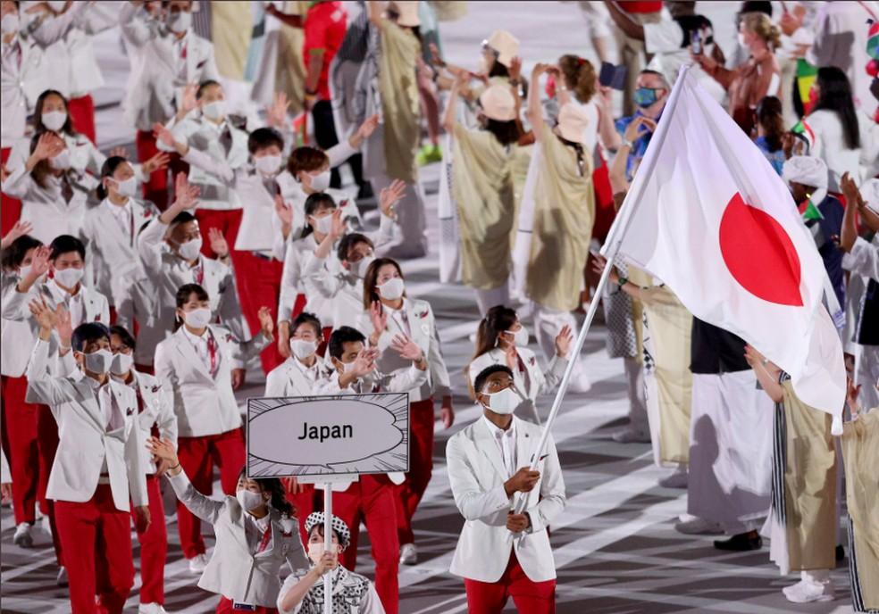 Delegação do Japão — Foto: @olympic