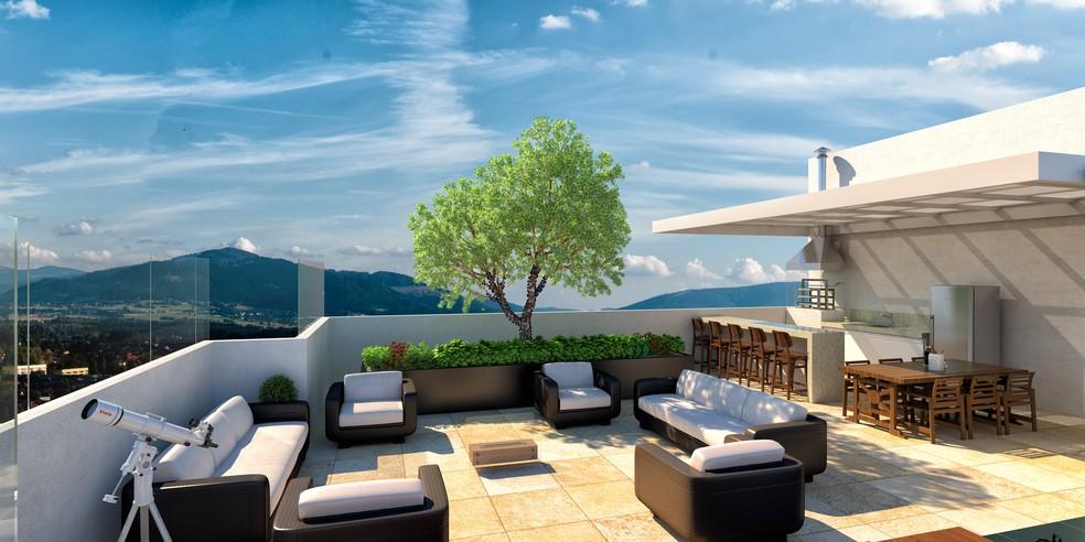 Sky View, em Jacareí, utiliza Internet das Coisas para automação residencial — Foto: Divulgação/Sky View
