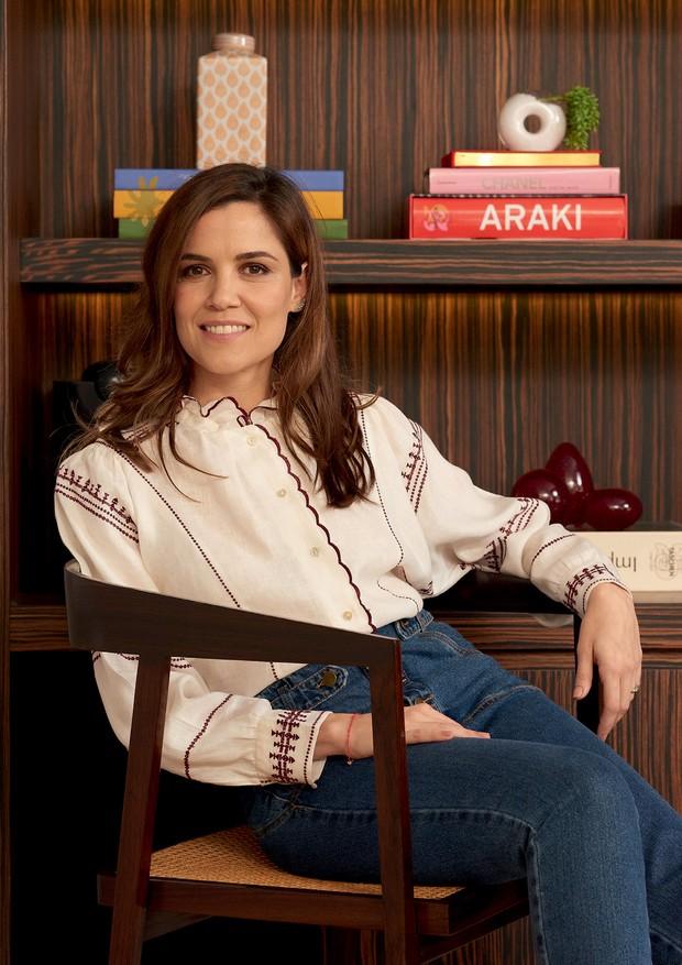 Camisa Isabel Marant e jeans Framed.  (Foto: Denny Sach)