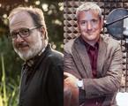 O diretor José Eduardo Belmonte e o escritor peruano Santiago Roncagliolo | Divulgação