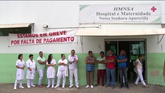 Funcionários de hospital em Montanha, no ES, estão em greve há uma semana