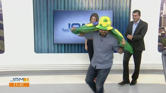 """Com direito """"invasão"""", confira agenda dos jogos do Brasil com Silvio Lima"""