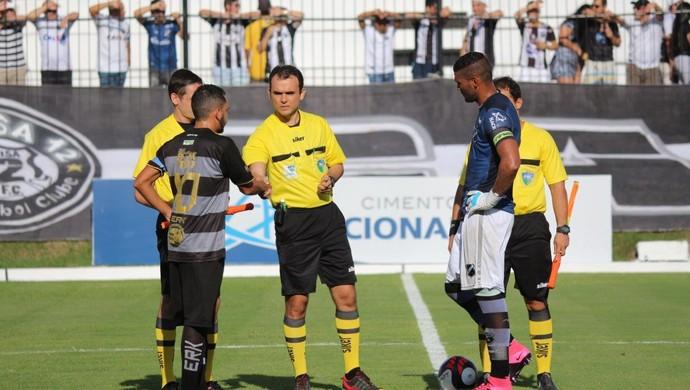 RN - Leandro Saraiva Dantas de Oliveira - árbitro (Foto: Andrei Torres/ABC FC/Divulgação)