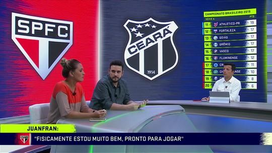 Programa analisa o São Paulo com Dani Alves e Juanfran