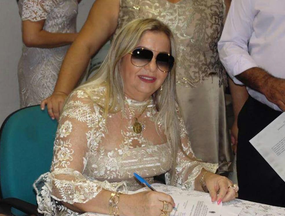 Dona Bill é mãe do cantor Wesley Safadão — Foto: Arquivo pessoal