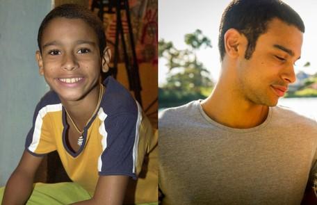 Sérgio Malheiros é outro ator que cresceu aos olhos do público. Ele estreou nas novelas em 2004, em 'A cor do pecado', e está no Globoplay na série 'Me chama de Bruna' Divulgação/TV Globo