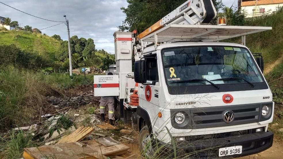 Flagrante foi feito durante outra fiscalização, em Cariacica — Foto: Divulgação/ Prefeitura de Cariacica