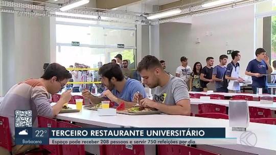 UFSJ inaugura novo Restaurante Universitário em São João del Rei