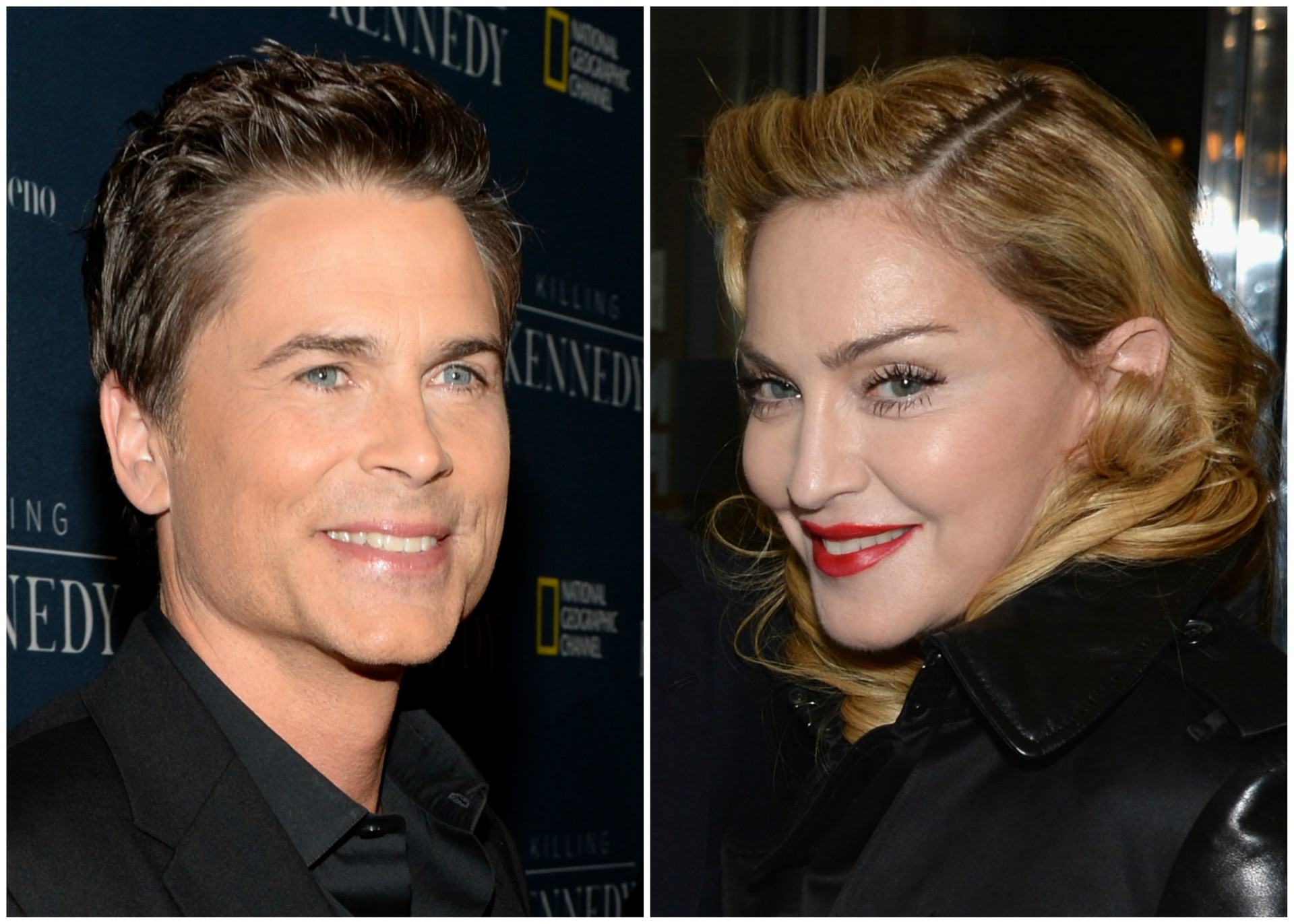 Rob Lowe e Madonna. (Foto: Getty Images)