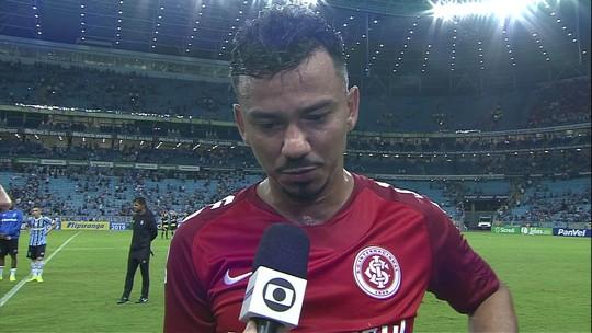 Rodrigo Lindoso fala após derrota do Inter por 1 a 0 no Gre-Nal 418 pelo Gauchão