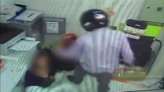 Funcionários agredidos durante assalto a farmácia de Maringá recebem alta; suspeito ainda não foi localizado