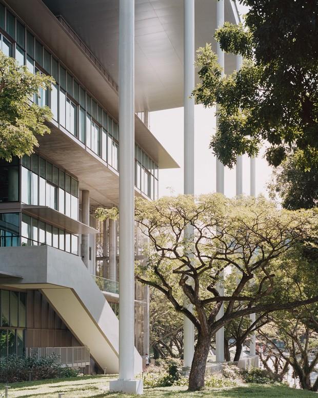 Universidade em Cingapura ganha prédio com consumo zero de energia