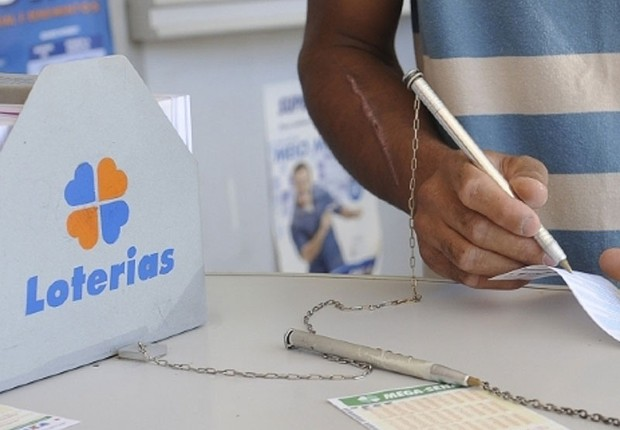 Casa lotérica ; Mega-Sena ; loteria esportiva ;  (Foto: Reprodução/Facebook)