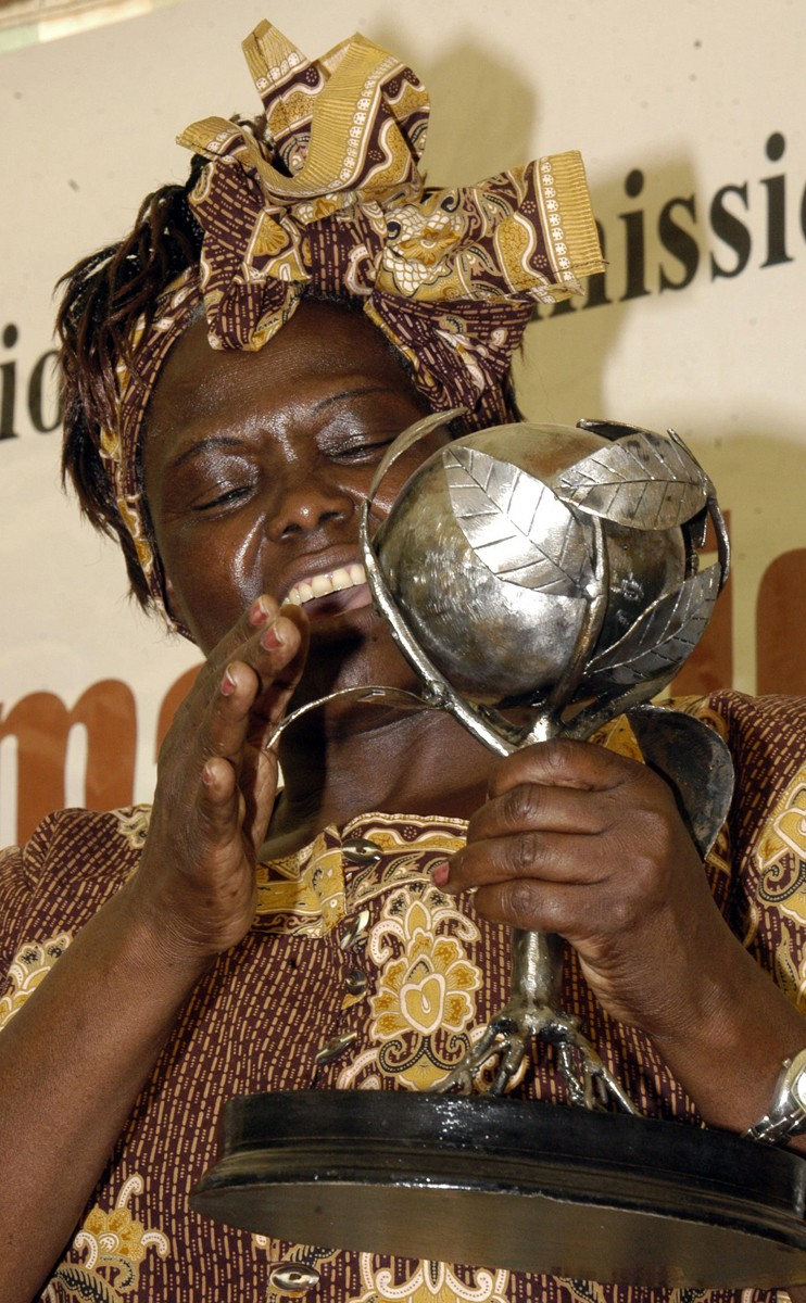 Wangari Maathai (Foto: By Demosh, via Wikimedia Commons)