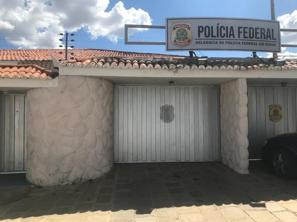 Delegacia da Polícia Federal em Patos, Sertão da Paraíba — Foto: Polícia Federal/Divulgação
