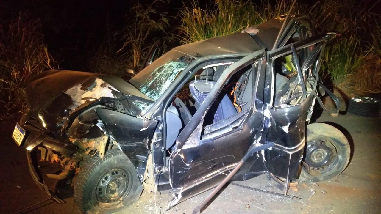 Sequência de batidas deixa uma vítima fatal e quatro pessoas feridas na SP-563, em Tupi Paulista
