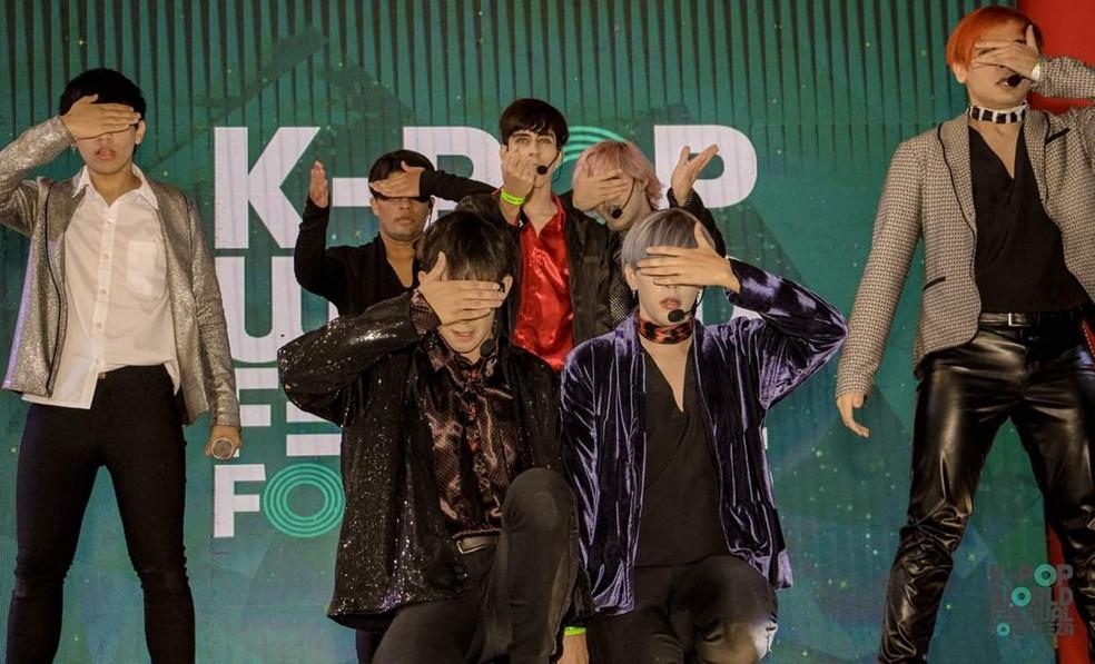 Kpop World Festival — Foto: Divulgação