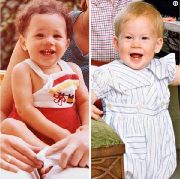 Meghan Markle e Príncipe Harry (Foto: Twitter /  @fairoz252525)