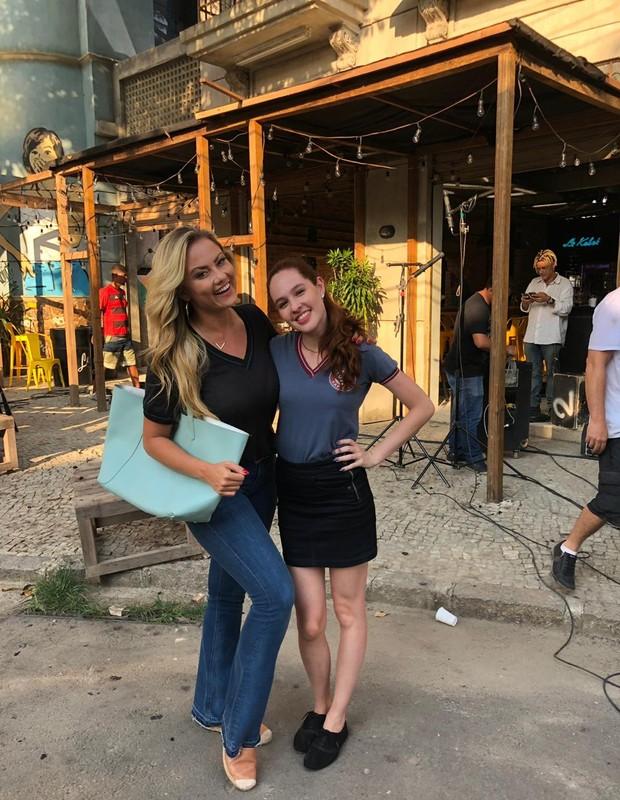 Ellen Rocche e Giovanna Rangel (Foto: Arquivo Pessoal)