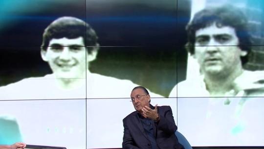 """No Grande Círculo, Galvão Bueno lembra amizade com Ayrton Senna: """"Ele me dava conselhos"""""""
