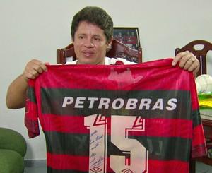 Iranildo Flamengo Santa Cruz (Foto: Reprodução TV Globo)