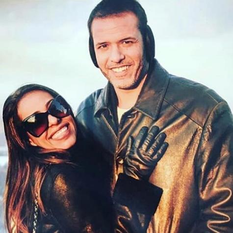 Samantha Schmütz e o marido, Michael Cannet (Foto: Reprodução)