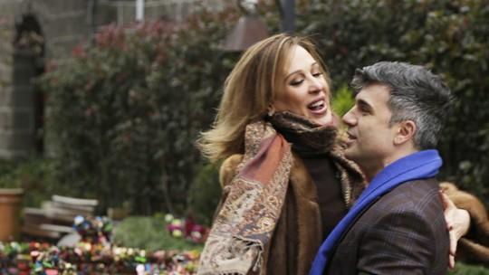 Claudia Raia e Jarbas Homem de Mello dão dicas para os casais apaixonados curtirem o inverno