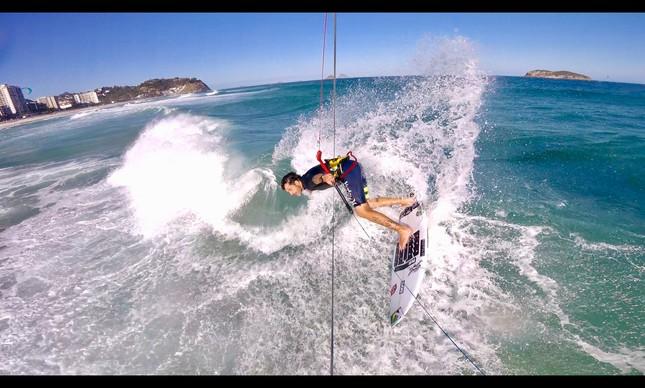 Marcelo Cunha em ação