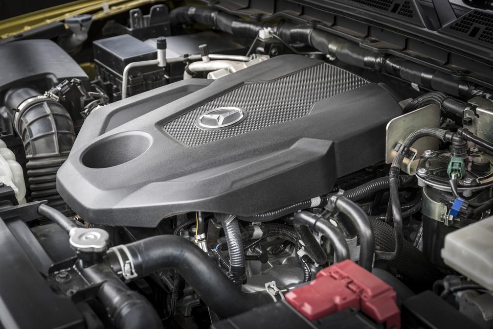 Motor V6 é exclusivo da Mercedes Classe X (Foto: Divulgação)