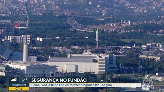 Programa Rio + Seguro vai reforçar policiamento no campus da UFRJ no Fundão