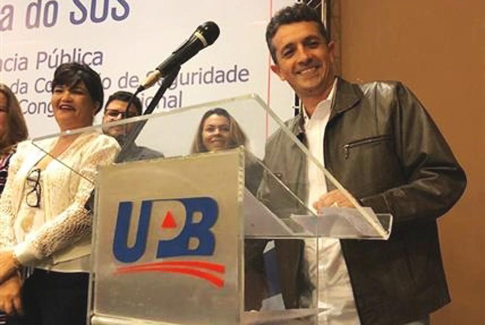 Secretário de Saúde não ficou ferido no ataque a tiros — Foto: Divulgação/Prefeitura de Esplanada
