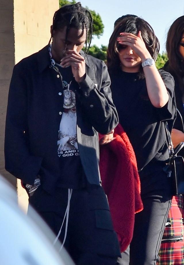 Kylie Jenner e Travis Scott (Foto: AKM/GSI)