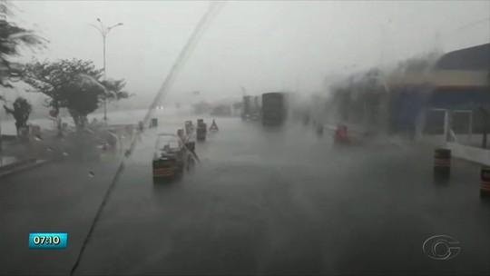 Chove forte no Sertão de AL e instituto nacional emite alerta a municípios