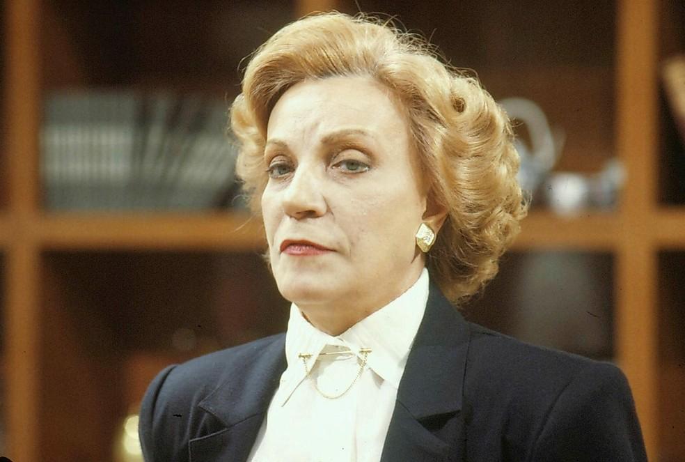 Márcia Real em 'Bebê a Bordo', de 1988 — Foto: Acervo TV Globo