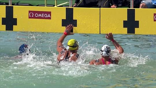 Repeteco! Na batida de mão, Ana Marcela leva seu segundo bronze no Mundial