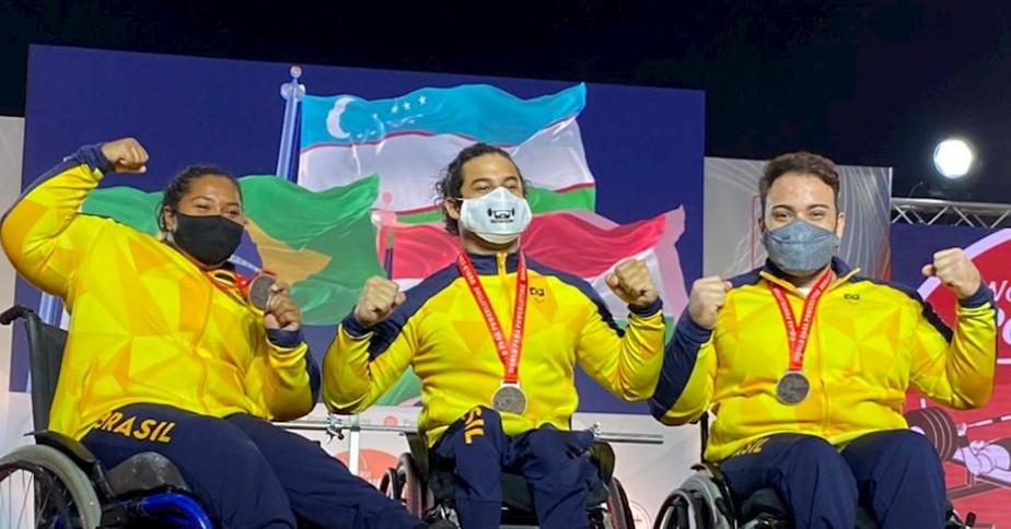 Brasil fecha etapa da Copa do Mundo de halterofilismo paralímpico com sete medalhas | paralimpíadas | ge