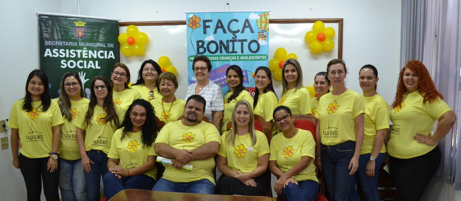 Tupã realiza campanha 'Faça Bonito' em combate ao abuso de crianças e adolescentes - Noticias