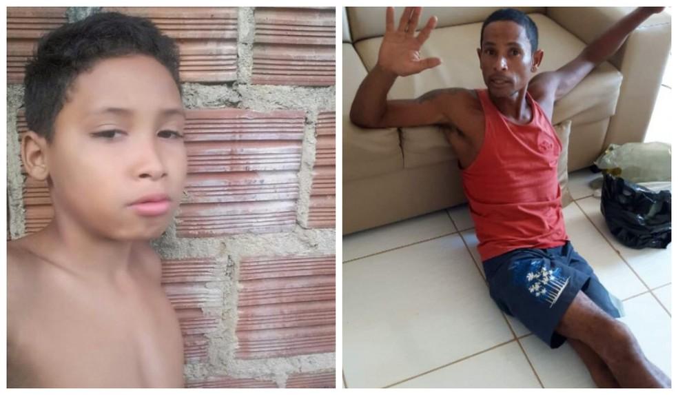 Pai e filho morreram após serem atingidos por muro no sul da Bahia — Foto: Arte g1