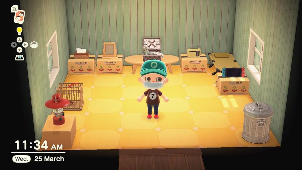 Cada um tem sua casa em Animal Crossing: New Horizons — Foto: Reprodução/Felipe Vinha