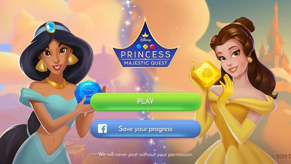 Disney Princess Majestic Quest — Foto: Reprodução/Felipe Vinha