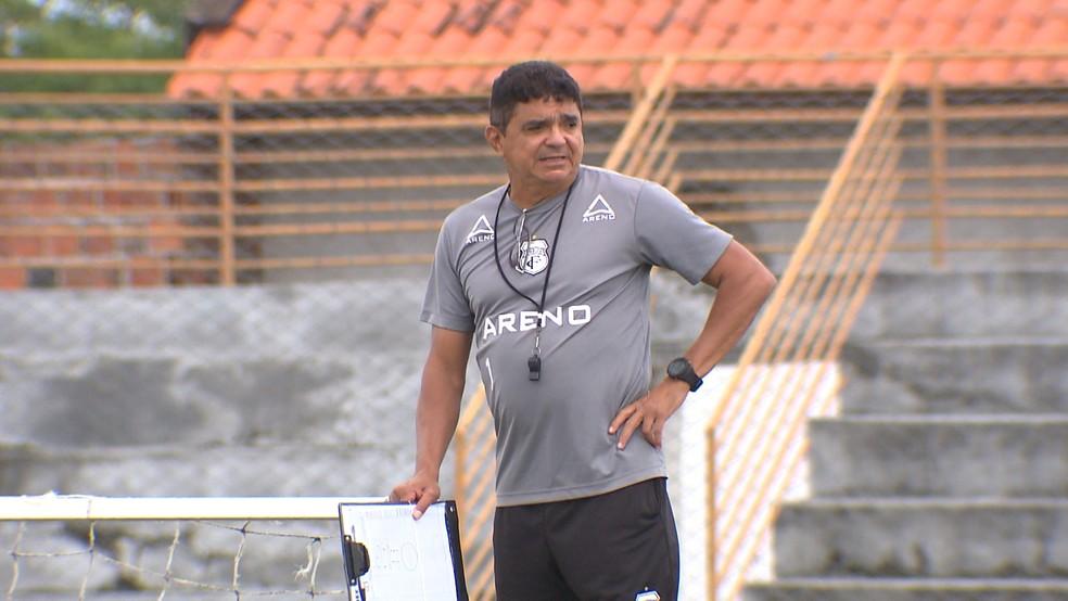 Flávio Araújo conquistou seu sétimo acesso em Brasileiro nesse ano, pelo Treze (Foto: Reprodução/ TV Paraíba)