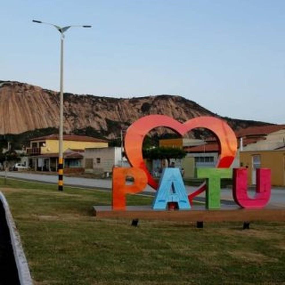 Patu, município do Alto Oeste potiguar — Foto: Prefeitura de Patu