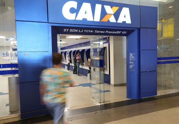 Agência da Caixa Econômica Federal (Foto: Fabio Rodrigues Pozzebom/Agência Brasil)