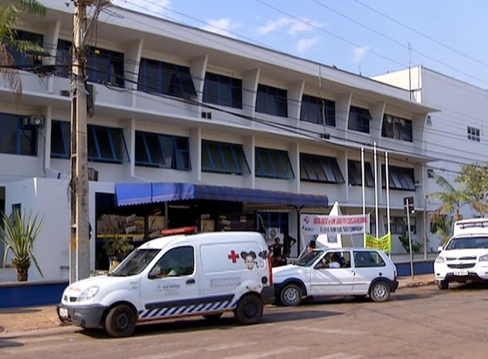 Empresa responsável por UTIs neonatais do Dona Reginal cobra dívida de R$ 9 milhões do Estado (Foto: Reprodução/TV Anhanguera)