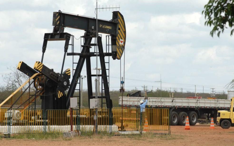 Campos maduros serão vendidos pela Petrobras no Rio Grande do Norte, dentro do programa de desinvestimentos da estatal. — Foto: Ney Douglas