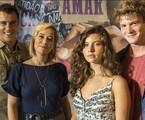 Joaquim Lopes, Paloma Duarte, Alanis Guillen e Pedro Duarte em 'Malhação' | TV Globo