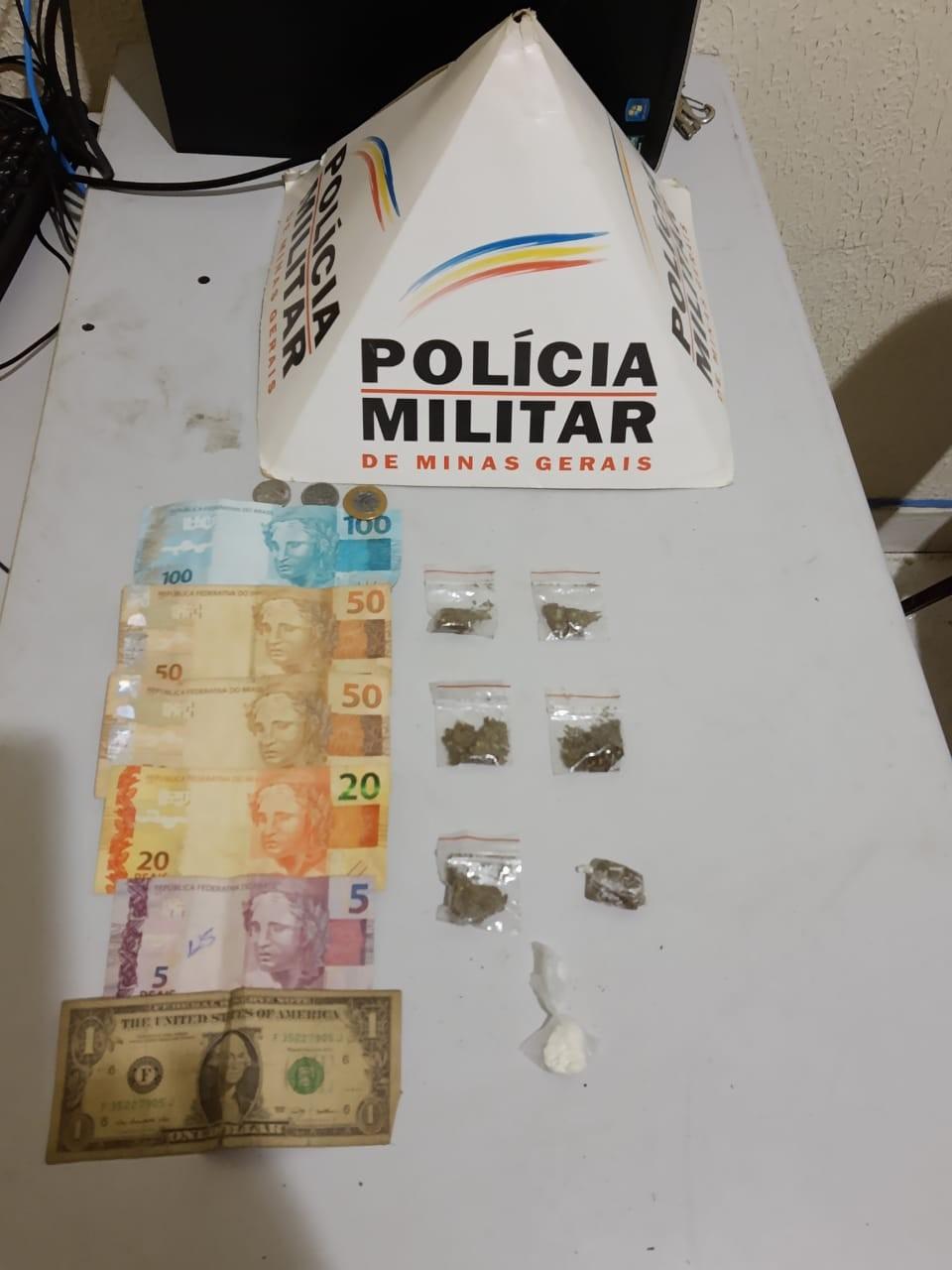Polícia Militar faz operação em três bairros de Valadares e apreende drogas e dinheiro; seis foram detidos