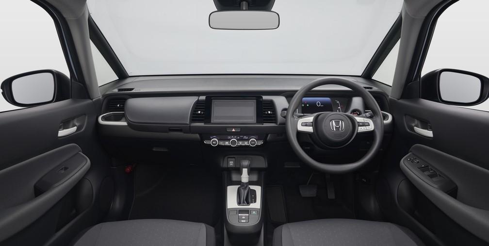 Interior do novo Honda Fit — Foto: Divulgação/Honda