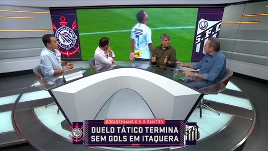 Analistas elogiam aspectos táticos no clássico entre Corinthians e Santos