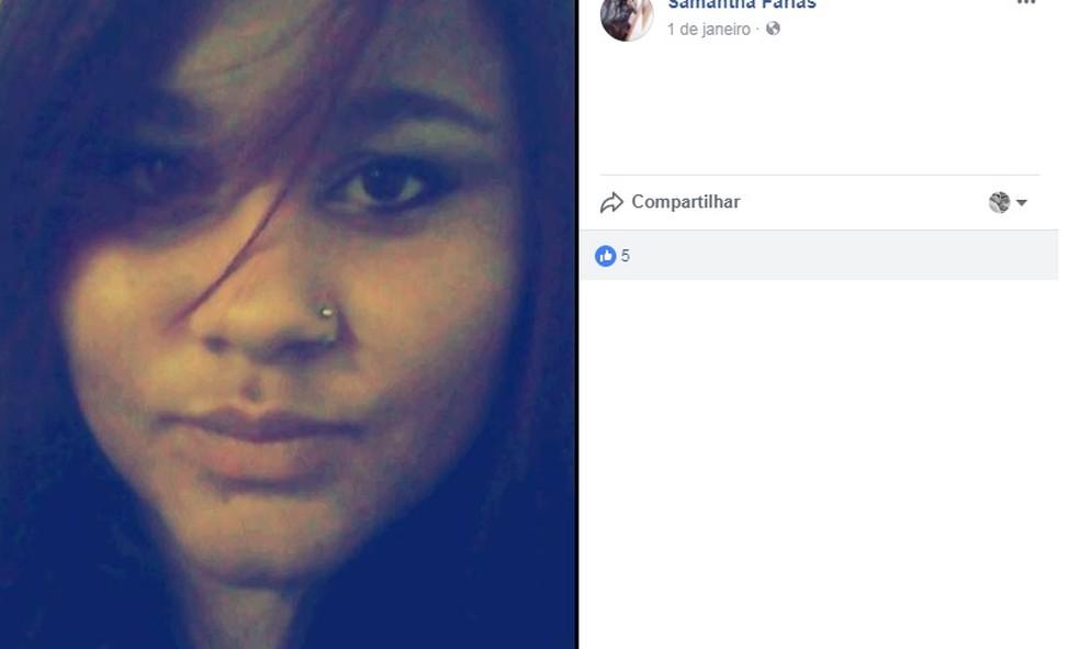 Jovem de Itatiba estava desaparecida desde domingo (Foto: Reprodução/TV TEM)